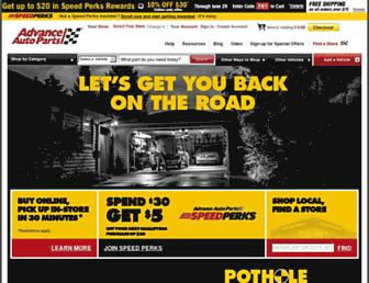 Thumbshot of Advanceautoparts.com