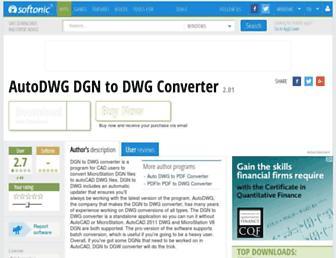 autodwg-dgn-to-dwg-converter.en.softonic.com screenshot