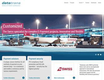 Thumbshot of Datatrans.biz