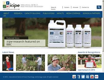 Thumbshot of Icipe.org