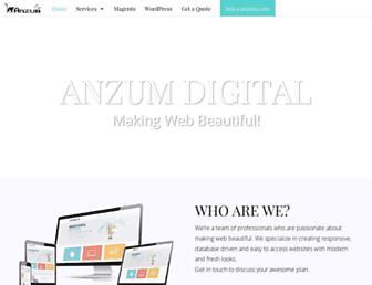 anzum.com screenshot