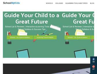schoolmykids.com screenshot