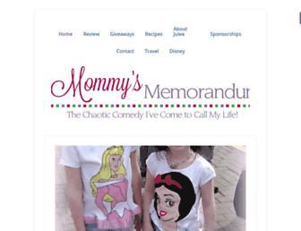 Thumbshot of Mommysmemorandum.com