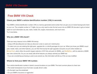 Thumbshot of Bmwvin.com