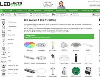 Thumbshot of Ledlampendirect.nl