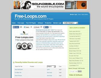 Thumbshot of Free-loops.com