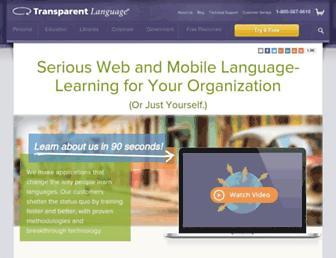 Thumbshot of Transparent.com