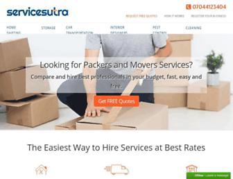 servicesutra.com screenshot