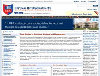 ibscdc.org screenshot
