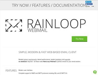 Thumbshot of Rainloop.net