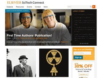 scitechconnect.elsevier.com screenshot