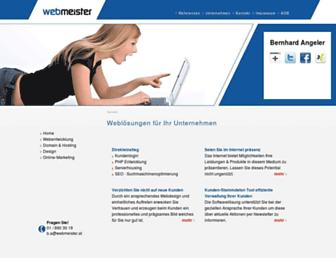 Thumbshot of Webmeister.at