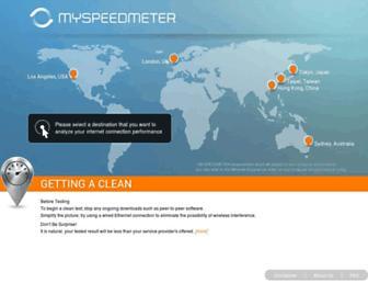 myspeedmeter.net screenshot