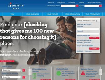 Thumbshot of Liberty-bank.com