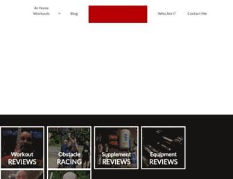 fitdadchris.com screenshot