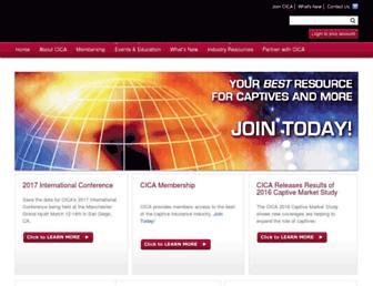 cicaworld.com screenshot