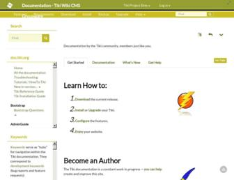 doc.tiki.org screenshot