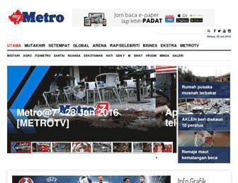 hmetro.com.my screenshot