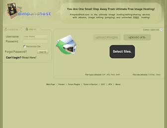 Thumbshot of Pimpandhost.com