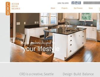 crddesignbuild.com screenshot