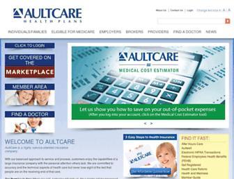 aultcare.com screenshot