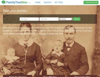 Thumbshot of Familytreenow.com