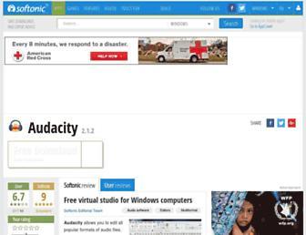 audacity.en.softonic.com screenshot