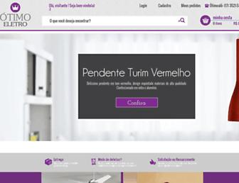 Thumbshot of Otimoeletro.com.br
