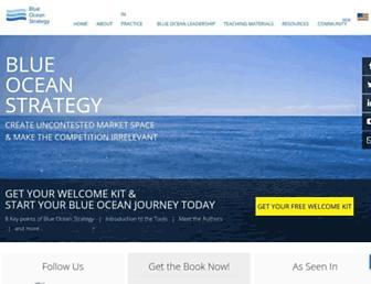 Thumbshot of Blueoceanstrategy.com