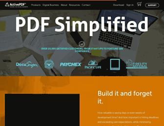 activepdf.com screenshot