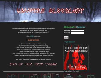 Thumbshot of Vampirebloodlust.com