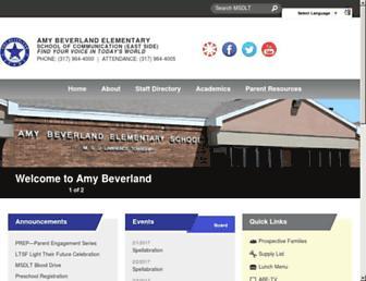 amybeverland.ltschools.org screenshot