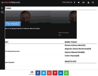 ecelebrityfacts.com screenshot