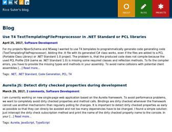 blog.rsuter.com screenshot