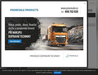 kamionaci.cz screenshot