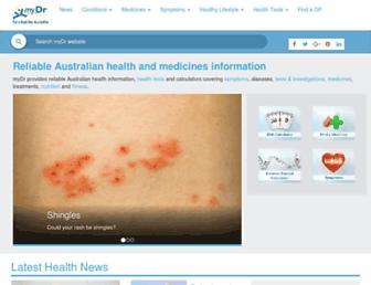 Thumbshot of Mydr.com.au