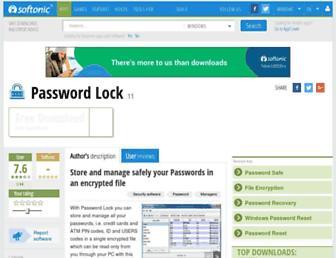 password-lock-win.en.softonic.com screenshot