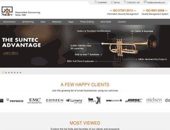 suntecindia.com screenshot