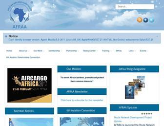 afraa.org screenshot