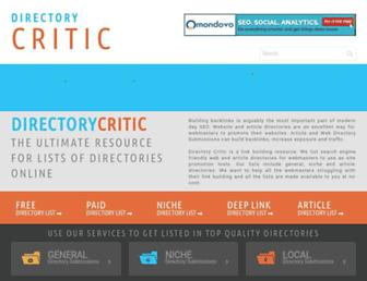 Thumbshot of Directorycritic.com