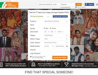 Thumbshot of Hindimatrimony.com