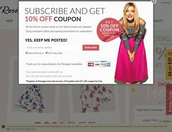 Thumbshot of Rosegal.com
