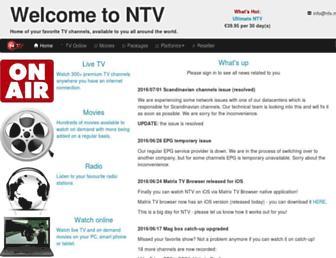 Thumbshot of Ntv.mx