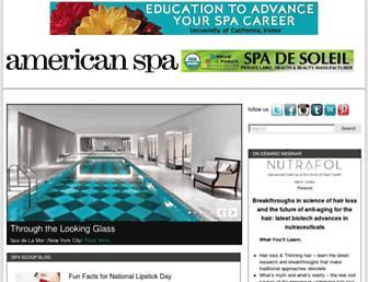 americanspa.com screenshot