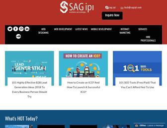 blog.sagipl.com screenshot