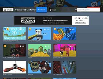 kogama.com screenshot