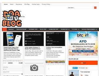 doaibublog.blogspot.com screenshot