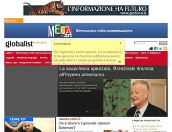 Main page screenshot of megachip.info
