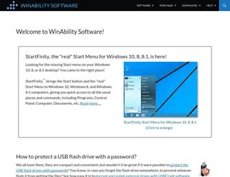 Thumbshot of Winability.com
