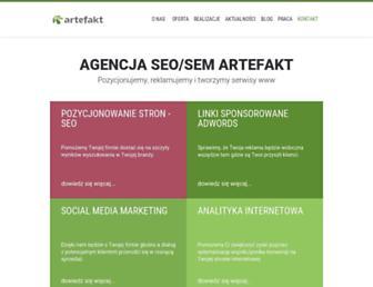 Thumbshot of Artefakt.pl